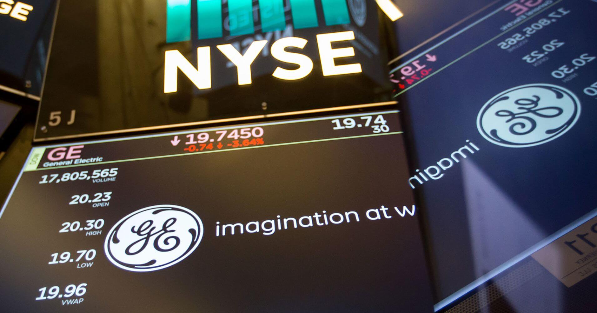 GE's Stock Market Events
