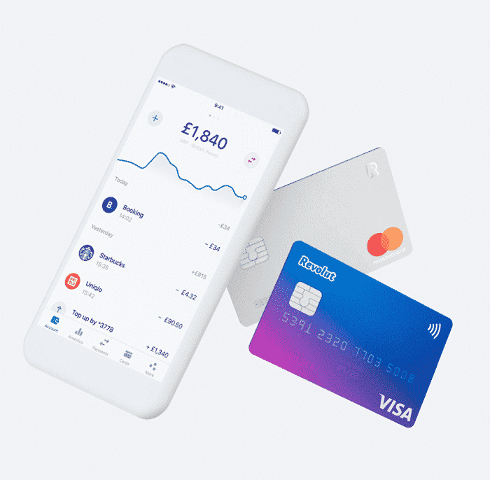 UK based Banking App Revolut Inks Partnership with Visa